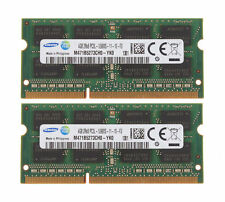 SAMSUNG 8GB 2x4GB PC3-12800 DDR3 1600MHZ 204pin laptop RAM MEMORY APPLE MAC ETC