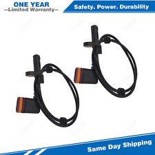 2PCS Rear ABS Wheel Speed Sensor For 07-10 Mercedes-Benz CL/S550 600 63 65 AMG