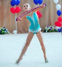 rhythmic gymnastics leotard,Acrobatic Rock'n'Roll Twirling dance dress RG custom
