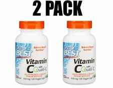 Doctor's Best, Vitamin C with Q-C, 2 PACK, 500 mg, Healthy Immune, 120 Veg Caps
