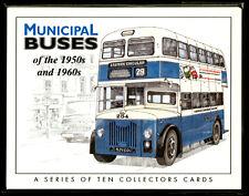 MUNICIPAL BUSES 1950's & 1960's - British city classics