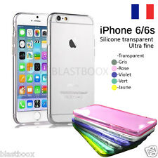 "COQUE iPhone 6 / 6S 4.7"" 5,5"" SILICONE  TRANSPARENT"