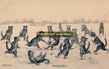 rp10189 - Louis Wain Cats - Hockey - photograph 6x4