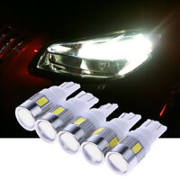 5 X High-Power Automotive LED Lights Show Wide Lights T10 5630 6SMD hv2n
