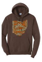 Cleveland Browns BAKER MAYFIELD OHIO Hooded Sweatshirt Super Soft Shirt Hoodie