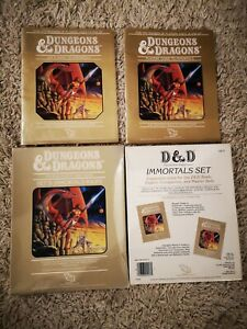 TSR Dungeons And Dragons Set 5 Immortal Rules