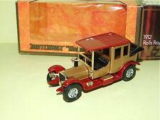 ROLLS ROYCE 1912 MATCHBOX Y-7
