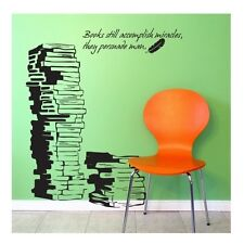 Wall Stickers Home Decor Decal Vinyl Art DIY Mural Books Quote NEW
