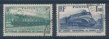 CO - TIMBRE DE FRANCE N° 339 et 340 oblitérés