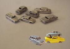 P&D Marsh N Gauge N Scale G18 6 scrap cars castings require painting