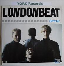 LONDONBEAT - Speak - Excellent Condition LP Record