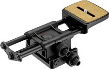 Velbon Stable Super Mag Slider Macro Rail 2-Way Focus Adjuster Mount Suppots