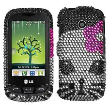 Kitty Crystal Bling Case Cover LG Cosmos Touch VN270