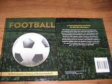 Nouveau football livre photographic history of british football cadeau de noël