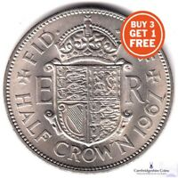 1953 -1967 BRITISH HALF CROWN QUEEN ELIZABETH COIN CHOOSE YOUR DATE 99p