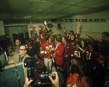 CFL 1971 Grey Cup Champs Calgary Stampeders Celebrating  8 X 10 Photo Pic