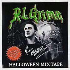 R.L. GRIME SIGNED HALLOWEEN MIXTAPE 12X12 ALBUM COVER PHOTO W/COA