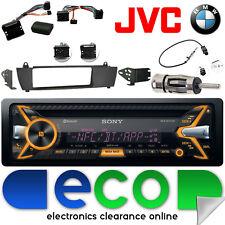 BMW X3 E83 2003-10 LHD - SONY CD MP3 USB Bluetooth Car Stereo Steering Wheel Kit