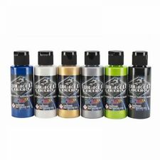 Airbrush Paint - Wicked Colors Pearl Set W105-00 6 x 60ml