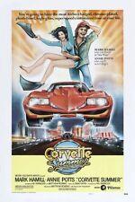 Corvette Summer Movie Poster 24x36