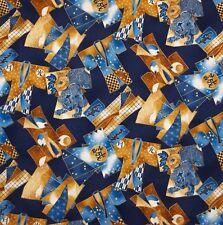 """23"""" Robert Kaufman Tradizioni Orientali Kimono Navy Bullone fine tessuto di cotone"""