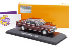 "Maxichamps 940032221 # Mercedes Benz 230 CE Coupe Bj. 1976 in "" dunkelrot "" 1:43"