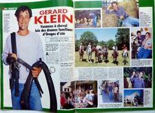 GERARD KLEIN => coupure de presse rare 4 pages 1990 / CLIPPING