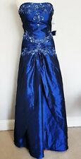Womens Dress Ball Gown Corset Prom Evening Party Princess Costume Size 12 Xmas