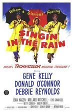 Original Singin' in the Rain (1952)movie poster reprint