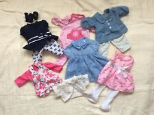 "12 Piece Toys R Us You & Me Clothing Lot for 12-14"" Baby Dolls"