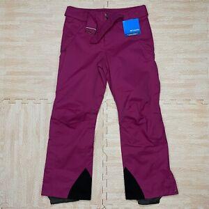 NWT Columbia Omni-Tech Purple Waterproof The Helsinki Insulated Pants Size M