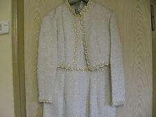 Unikat edles Brautkleid - Hochzeitskleid Gr. 44/46  A-Linie
