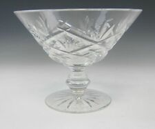 Waterford Crystal INNISFREE Round Compote EXCELLENT
