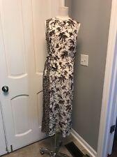 Tory Burch Silk Mixed print crew neck dress size 4