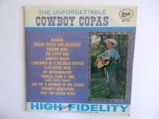 """COWBOY COPAS~"""" THE UNFORGETTABLE """" - 33 1/3 LP - PHONOGRAPH~RECORD ALBUM -NICE"""