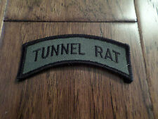 U.S MILITARY TUNNEL RAT VIETNAM SERVICE BAR, 1 PATCH NEW