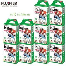 10X10 Fujifilm Fuji Instax Mini 9 White Film fr Mini 9 7s 8 8+ 90 25 55 SP-2 SP1