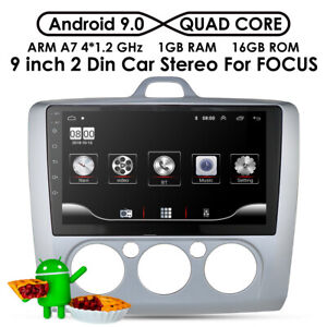 "9"" android9.0car stereo radio GPS Navi 4G WIFI for Ford Focus Exi MT2 3 MK2/MK3"