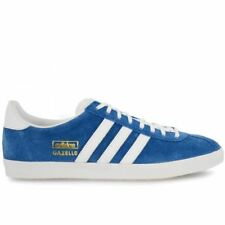Adidas Mens Gazelle OG Lace Up Casual Trainers Blue (G16183)