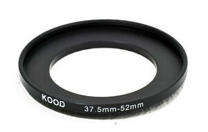 37.5mm-52mm 37.5-52  Stepping Ring Filter Ring Adapter Step Up