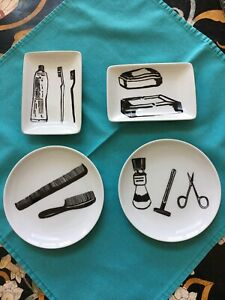 West Elm 4 Pieces Set  Bathroom Accessories
