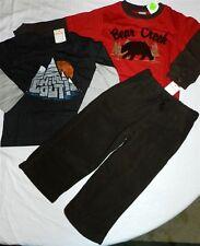Brown Pants Set Gymboree 3pc 2 Cotton Tees Fall Winter Boy size 3  New