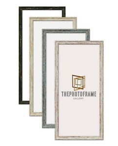 Wood Effect Panorama Style Photo Picture Art Frame Vintage Modern Handmade Frame