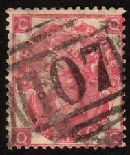 1865 Great Britain 3p, Used, Queen Victoria, Plate 4, Sc 44, Sg 92, Cv 210£
