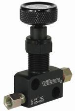 Tilton Knob / Screw Type Brake Proportioning Bias Valve JIC -3 & 3/8 UNF
