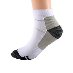 Foot Pain Relief Compression Socks Ankle Support Sleeves Brace Plantar Fasciitis