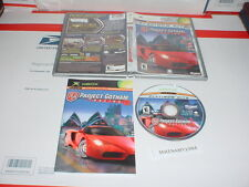 PROJECT GOTHAM RACING 2 game complete w/ Manual for Microsoft XBOX