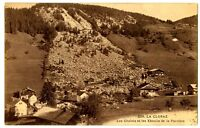 CPA 74 Haute-Savoie La Clusaz Chalets et Eboulis de la Pérrière