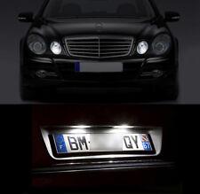 4 ampoules LED Blanc Veilleuses + éclairage plaque Mercedes classe E W211 C W203