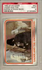 1980 STAR WARS #50 VADER AND THE STORMTROOPERS- EMPIRE STRIKES BACK  PSA 9  MINT